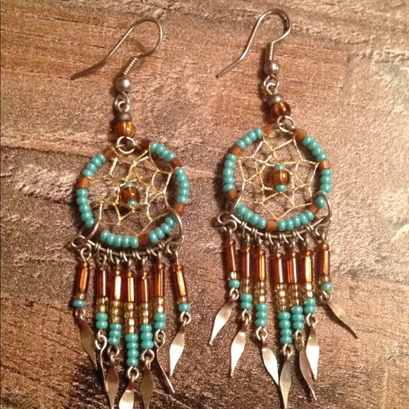 Francesca's Collections Jewelry - Dream catcher earrings